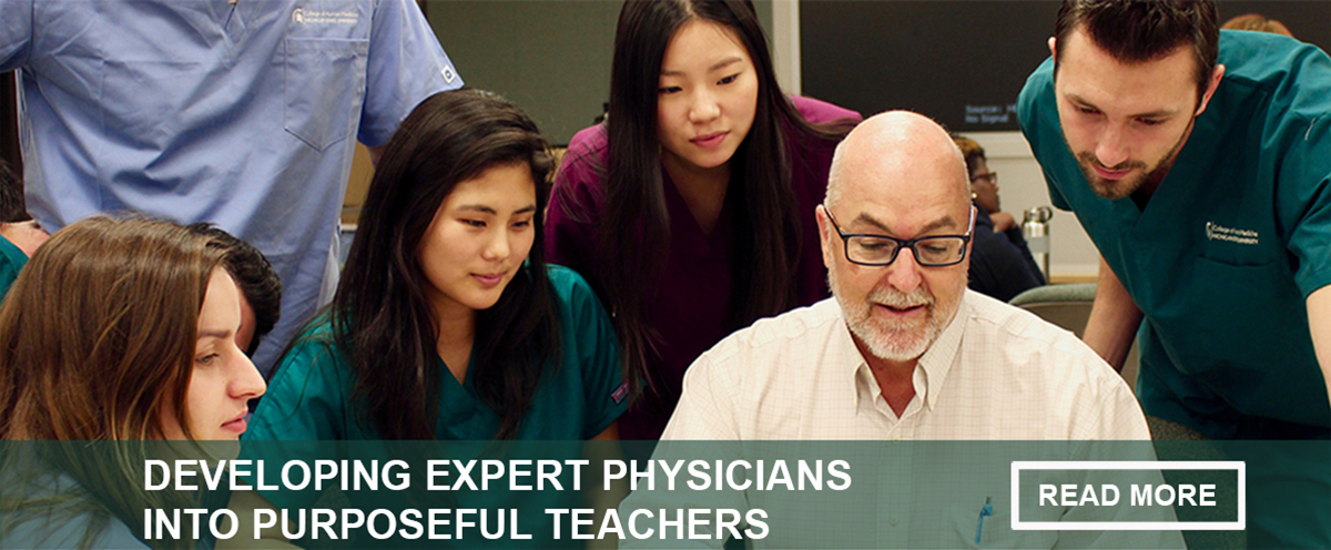 developing expert physicians into purposeful teachers